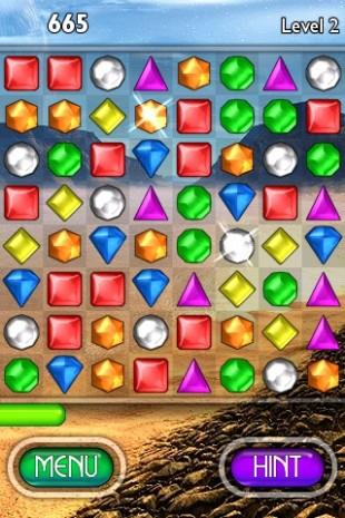 Bejeweled-serien så for første gang dagens lys i 2001 som et nettleserspill. (Foto: Popcap).