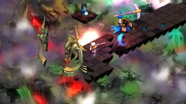Fiendene i Bastion kommer i mange størrelser, men de virker som en veldig sammensveiset gjeng. (Foto: Supergiant Games)