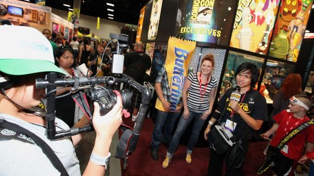 Hva tror du nerder spiser i USA? Joda, Butterfinger Man! (Casey Rodgers/AP Images for Butterfinger)