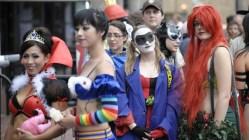 Se bildene fra Comic Con