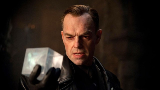 Hugo Weaving spiller stormannsgale Johann Schmidt i Captain America: The First Avenger (Foto: United International Pictures Norway).