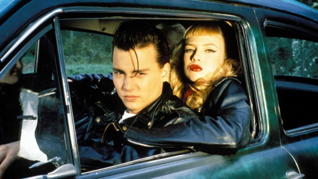 Johnny Depp og Traci Lords i Cry-baby (Foto: Universal Pictures Norway AS).