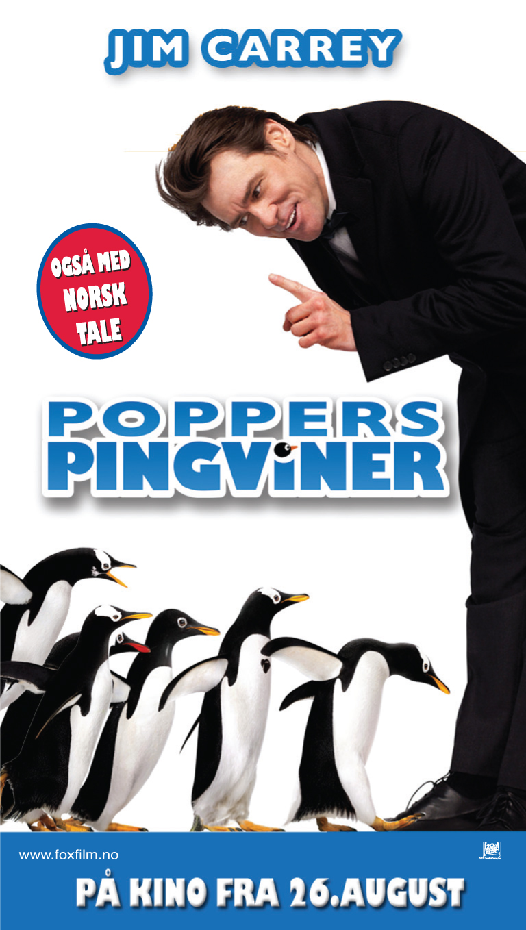 Poppers pingviner