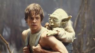 Luke og Yoda i Star Wars episode V: Imperiet slår tilbake (Foto: Lucasfilm).