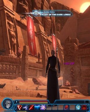 En Sith Inquisitor begynner sitt liv ved å utforske Korribans hemmeligheter. (Foto: EA)