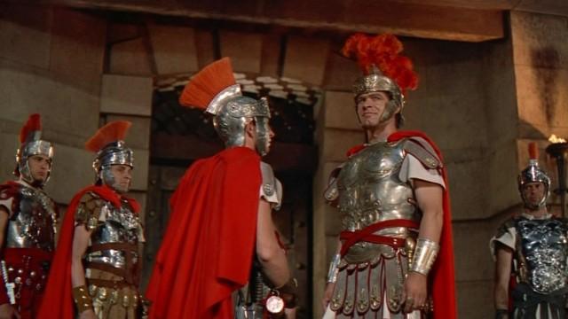 Romerske rustninger tar seg godt ut i den nye Blu-ray-utgaven av Ben-Hur (Foto: Warner Bros Home Entertainment).