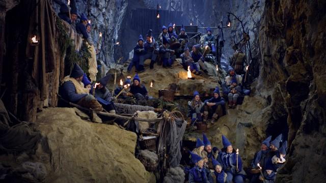 På innsiden i Blåfjell 2 - Jakten på det magiske horn (Foto: Norsk Filmdistribusjon).