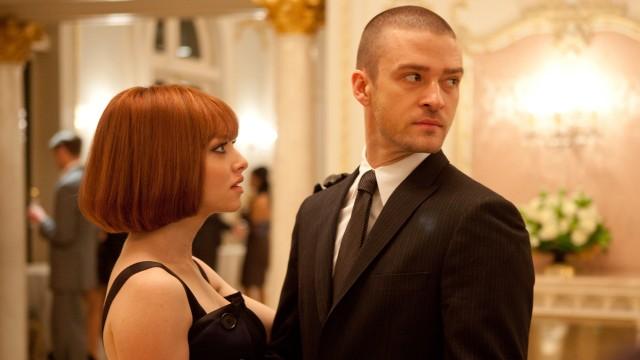 Amanda Seyfried og Justin Timberlake i finstasen i In Time (Foto: 20th Century Fox).