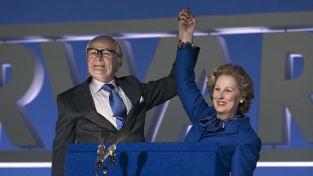 Jim Broadbent og Meryl Streep spiller herr og fru Thatcher i Jernkvinnen (Foto: Scanbox).
