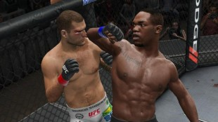 Hvordan utføre et  perfekt albueslag. (Foto: UFC Undisputed 3, THQ)