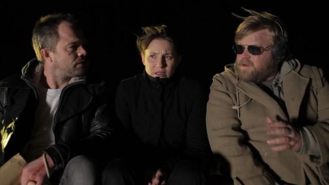 Jon Øigarden, Tuva Novotny og Anders Baasmo Christiansen i Fuck up (Foto: SF Norge).