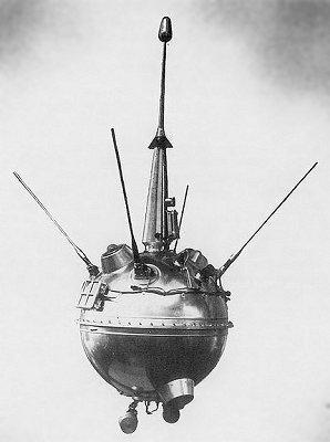 Luna 2 var det første menneskeskapte objektet på månen (Foto: NASA)