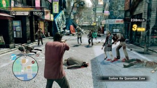 I Free-mode kan du slakte zombier og samle erfaringspoeng uten at fortellingen går videre. (Foto: Sega)