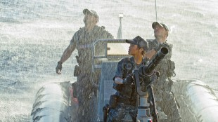Vannet spruter i Battleship (Foto: United International Pictures).