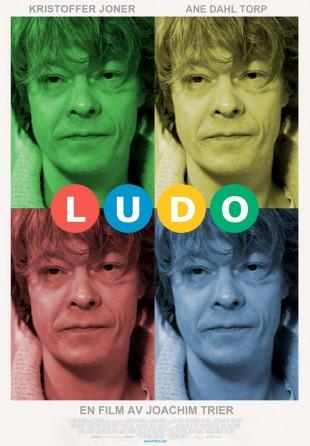 Fotomontasje av Ludos filmplakat. (Originalfoto: Terje Bendiksby / Scanpix)