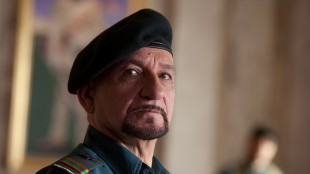 Ben Kingsley i The Dictator (Foto: AP Photo/Paramount Pictures, Melinda Sue Gordon).