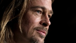 Brad Pitt på pressekonferansen for filmen 'Killing Them Softly' under filmfestivalen i Cannes, 2012. (Foto: Reuters / Eric Gaillard)