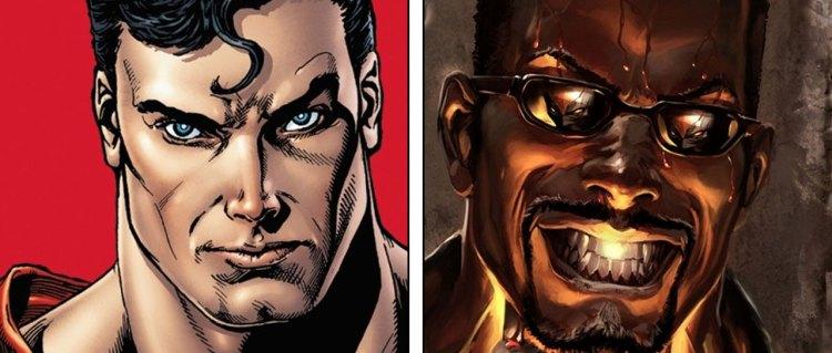 Supermann versus Blade
