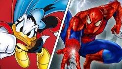 Kvartfinale: Spider-Man versus Fantonald