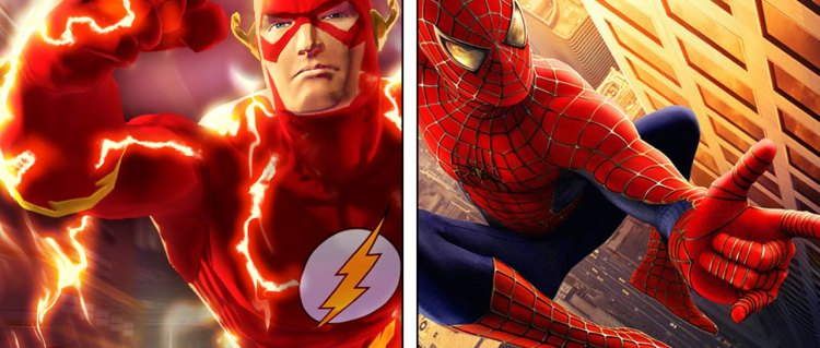 Spider-Man versus The Flash
