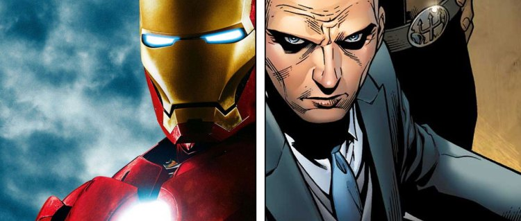 Iron Man versus Professor X
