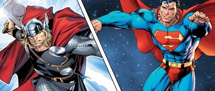 Kvartfinale: Thor versus Supermann