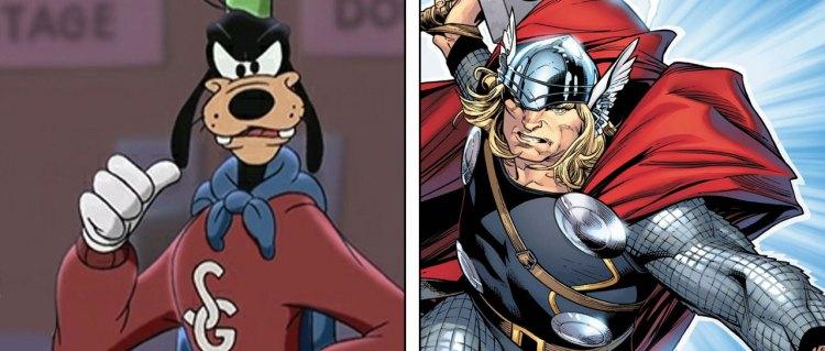 Thor versus Super-Langbein