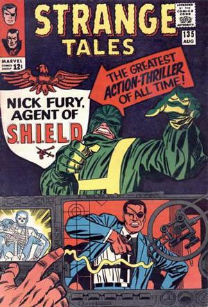 S.H.I.E.L.D debuterte i bladet Strange Tales i 1965 (Foto: Marvel).