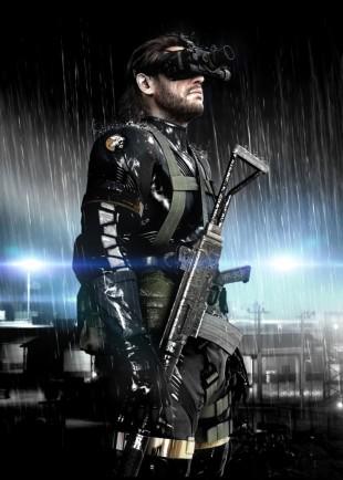 Det første biletet frå «Metal Gear Solid: Ground Zeroes» via Famitsu (Bilete: Konami).