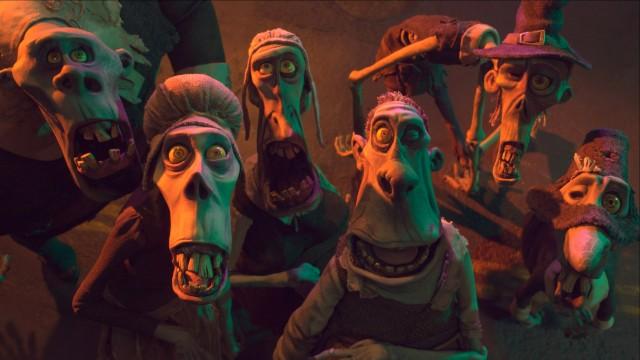 Dette er zombiene som sprer skrekk i ParaNorman (Foto: United International Pictures).