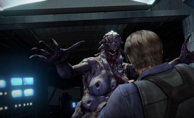 Kva er knappetrykket for: «Nei, eg vil ikkje ha ein klem», mon tru? (Foto: Capcom)