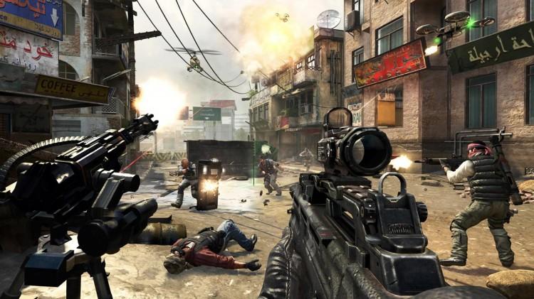 Heftig flerspilleraction i Call Of Duty: Black Ops II (Foto: Treyarch/Activision/Microsoft).