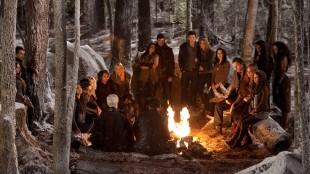 Vampyrer og varulver slår seg sammen i The Twilight Saga: Breaking Dawn - Part 2 (Foto: Summit Entertainment).
