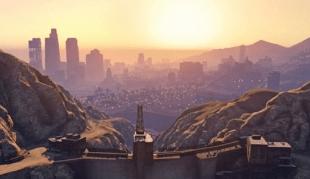 Losby Santos er hovedbyen i GTA V. (Faksimile fra Gameinformer.com)