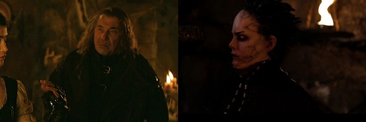 Blant anna Bjørn Sundquist og Ingrid Bolsø Berdal har biroller i «Hansel & Gretel: Witch Hunters». (Foto: SF Norge)