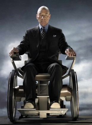 Patrick Stewart spiller lederen for de gode X-Men-heltene. (Foto: 20th Century Fox)
