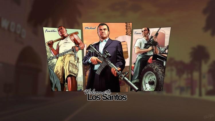GTA V. (Foto: Rockstar Games)
