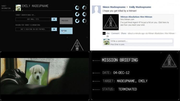 Slik var «Hitman»-appen som ble fjernet. (Foto: Square Enix / Rockpapershotgun.com)