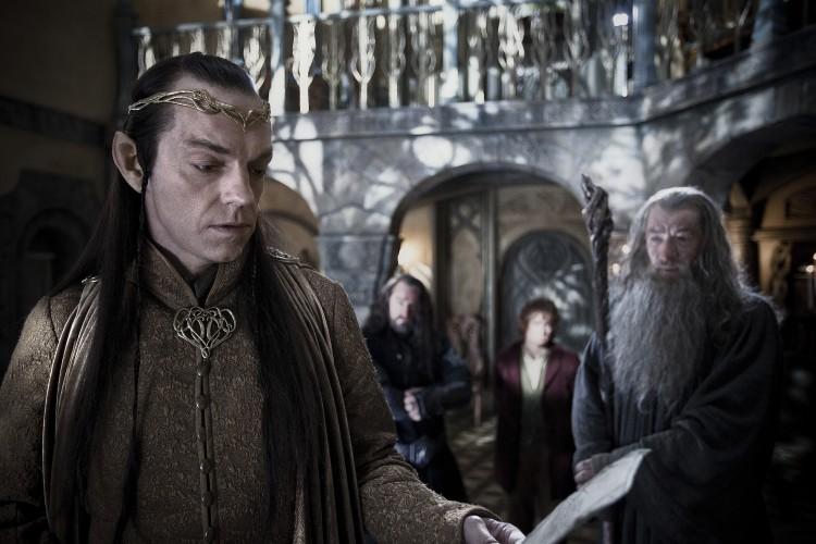 Elrond og Gandalf - Hobbiten. (Foto: SF Norge)
