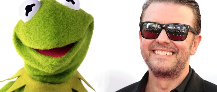 Gervais aktuell for ny «The Muppets»-film