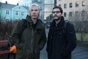 Benedict Cumberbatch som Julian Assange i det første biletet frå «The Fifth Estate». (Foto: Dreamworks)