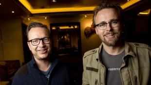 Joachim Rønning og Espen Sandberg. (Foto: Tore Meek/NTB)