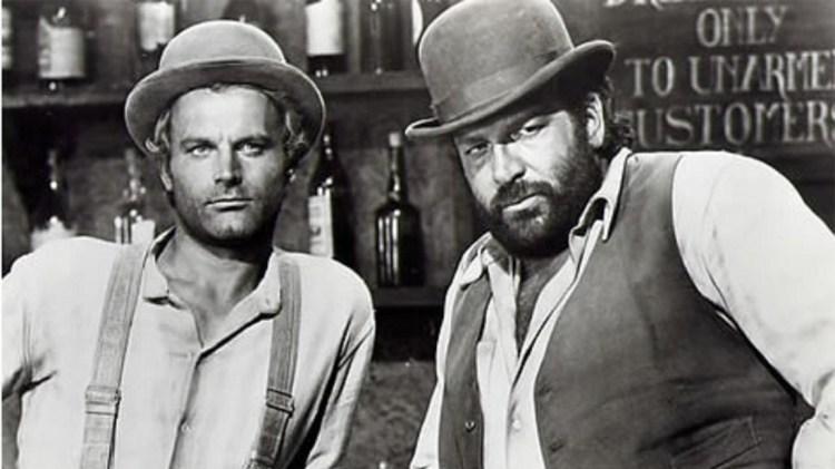 Terence Hill & Bud Spencer.