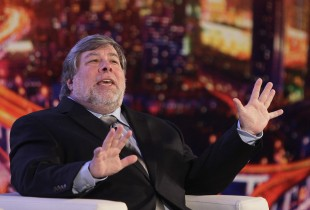 Steve Wozniak, med-grunnleggjar av Apple. (Foto: REUTER/Aly Song)