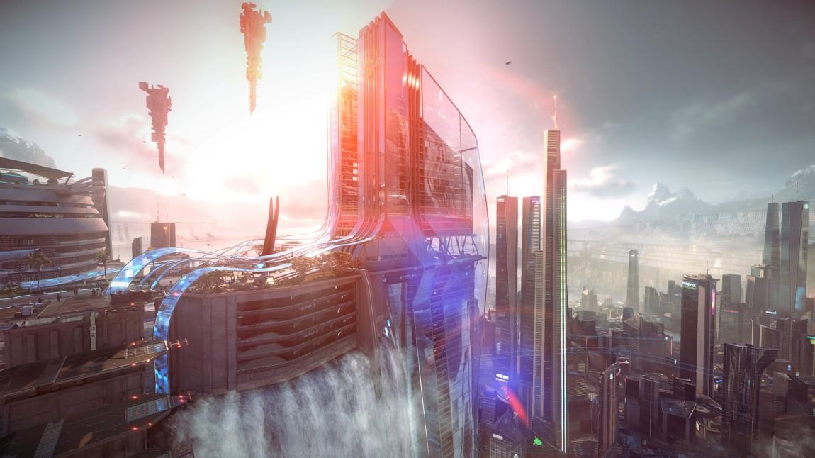 Bilde fra traileren til Killzone: Shadowfall. (Foto: Sony)
