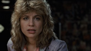 Linda Hamilton spiller Sarah Connor i The Terminator (Foto: SF Norge AS).