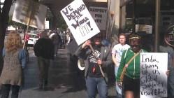 Protesterte under Oscar-utdelinga