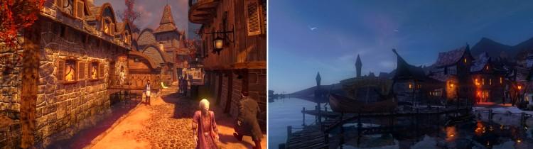 Skjermbilder fra «Drømmefall: Kapitler». Foto: Red Thread Games