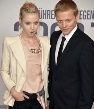 Antonia Campbell-Hughes og Thure Lindthardt. (Foto: AFP PHOTO / ODD ANDERSEN)