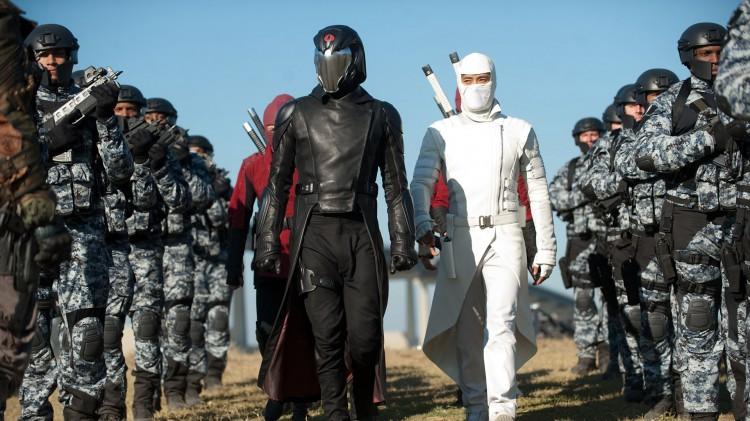 Cobra Commander og Storm Shadow har skumle planer i G.I. Joe: Retaliation (Foto: United International Pictures).